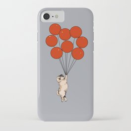 I Believe I Can Fly Pug iPhone Case