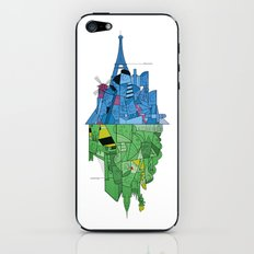 From Paris to New York and back iPhone & iPod Skin