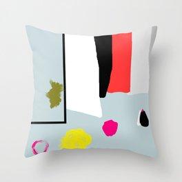 Western fun Throw Pillow