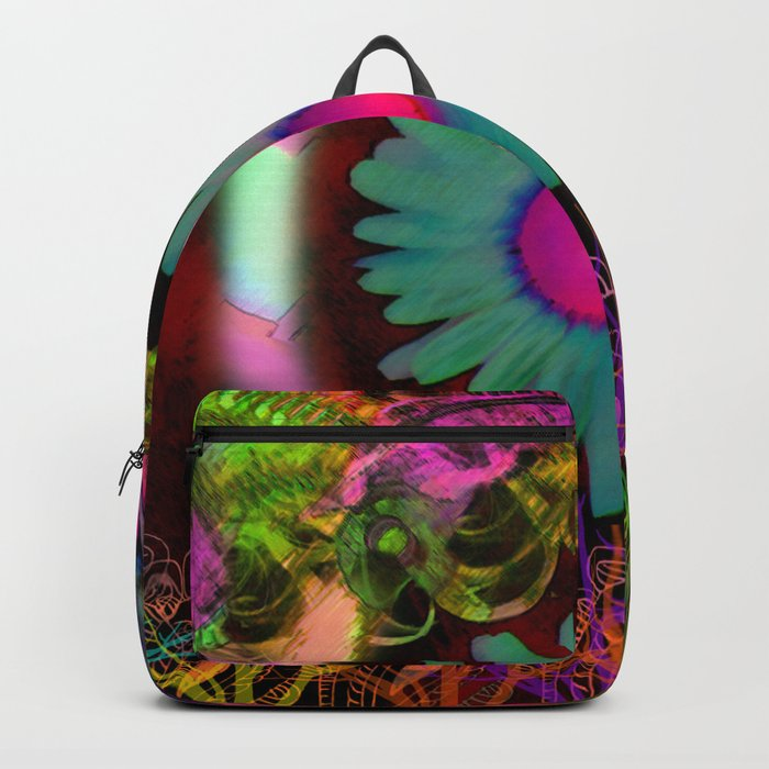 Tripping Daisies Backpack