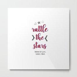 rattle the stars, tog Metal Print