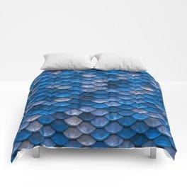 Mermaid Blues Scales Comforters