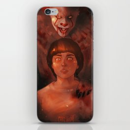 Pennywise and Will iPhone Skin