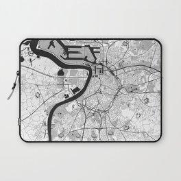Antwerp Map Gray Laptop Sleeve
