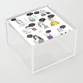 Real Housewives Drinking Acrylic Box