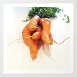 Carrots - CSA Series Art Print