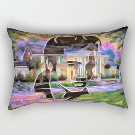 The King at Home Rectangular Pillow