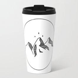 ACOTAR -- Night Court Sigil (B&W) Travel Mug