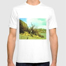 Dries the nature. Mens Fitted Tee MEDIUM White