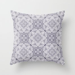 Mandala (Seamless) Throw Pillow