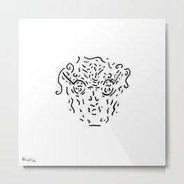 The Nerdy Professor Metal Print