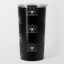 Eye of Providence Pattern Travel Mug