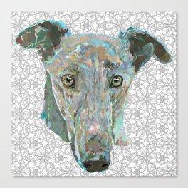 Sweetheart Hound Canvas Print