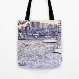 Charles River Esplanade Tote Bag