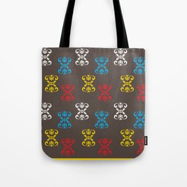 Indian Motifs Tote Bag