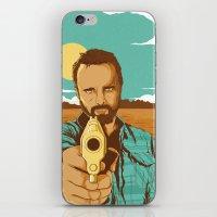 jesse pinkman iPhone & iPod Skins featuring BREAKING BAD | JESSE PINKMAN by Daniel Mackey