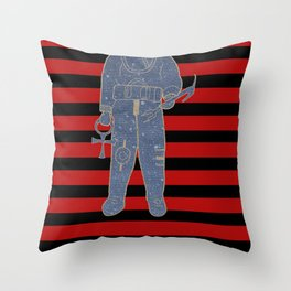 Ancient Astronauts the gods from planet x Throw Pillow