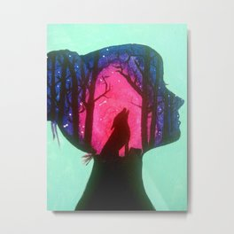 Wild Within Metal Print