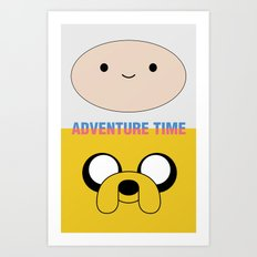 Adventure Time Art Print