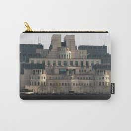 SIS Secret Service Building London And Rib Boat Carry-All Pouch