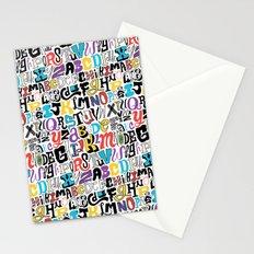 Alpha Pattern Stationery Cards