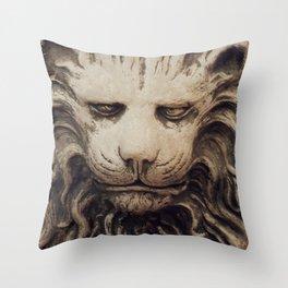 Big Lion Throw Pillow