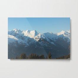 The mountain, Alps 2 Metal Print