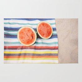 Beach Watermelon Rug