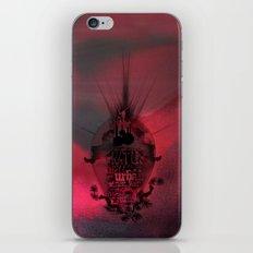 Swallowed in the sea iPhone & iPod Skin