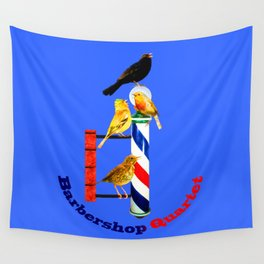 Barbershop Quartet - Most Products Wall Tapestry