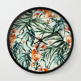 Exotic flower nature-07 Wall Clock