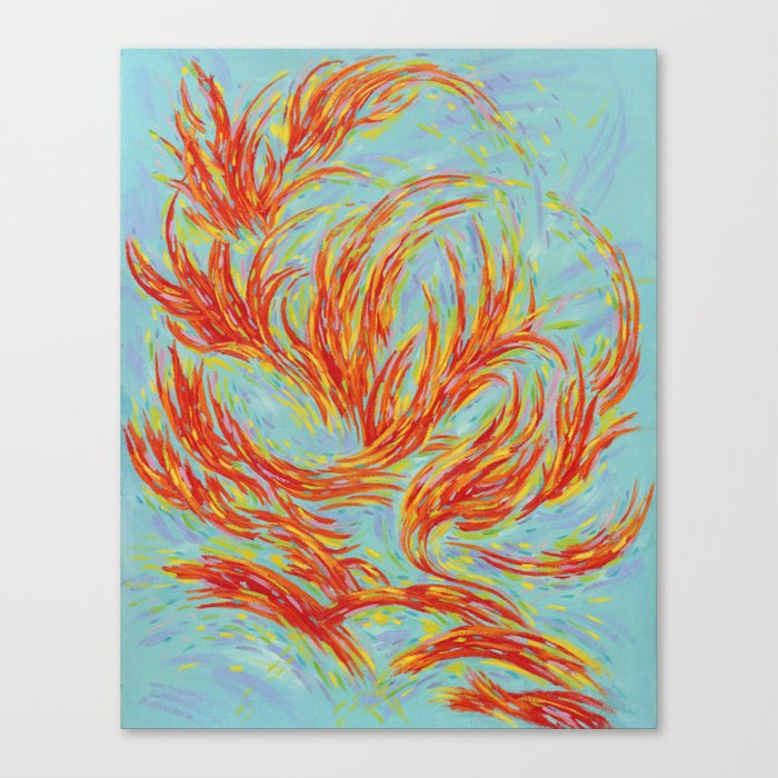 Fires of Life Canvas Print