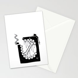 Zombie Punk Stationery Cards