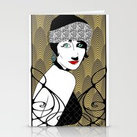 gatsby Stationery Cards featuring Gatsby style by david_draft