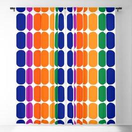 Rainbow Capsule Blackout Curtain