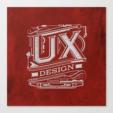 UX - Industrial Design - Red Canvas Print