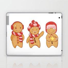 Gingerbread men trio Laptop & iPad Skin