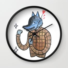 Lover & a Fighter Wall Clock