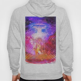 Hendrix Abduction Moire Hoody
