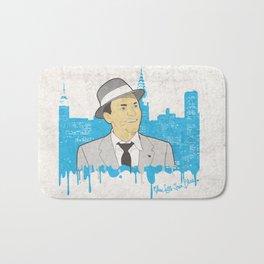 These Litte Town Blues Bath Mat
