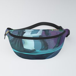 Plant collecting mermaid Fanny Pack