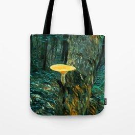 Mushroom Painting Tote Bag
