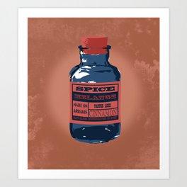 Spice Trade Art Print
