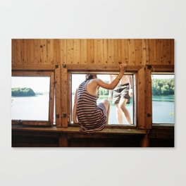 The Dreamers Canvas Print