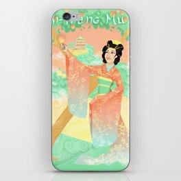 Xi- Wang Mu  iPhone Skin