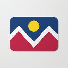 Denver, Colorado city flag - Authentic High Quality Bath Mat
