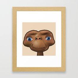 Serene ET Framed Art Print