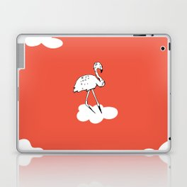 Flying Flamingo by McKenna Sanderson Laptop & iPad Skin