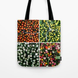Tulips from Holland - orange & yellow Tote Bag