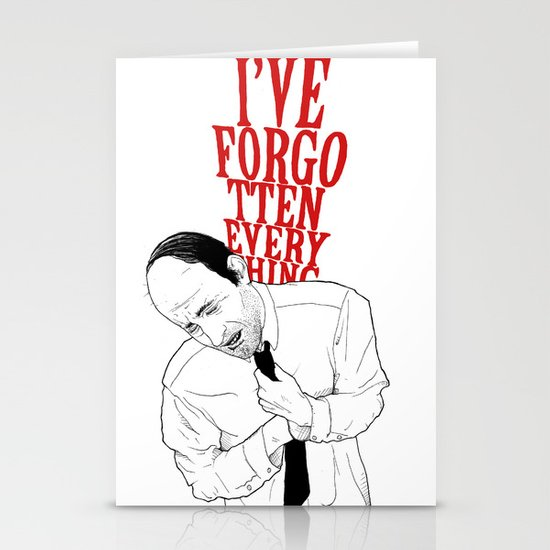 forgot II Stationery Cards